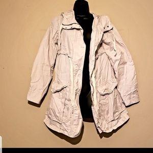 GAP light hooded utility jacket